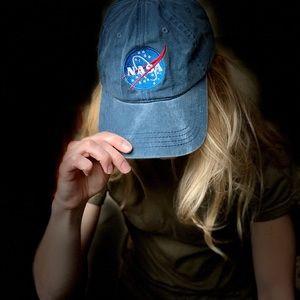 NASA Logo Vintage Hat